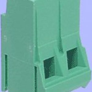 6.35mm 2 way terminal (pk 5)