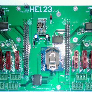 HE123 48 output pixel board