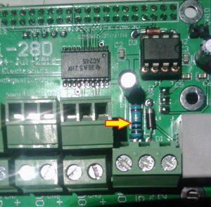Incorrect 1 ohm resistor