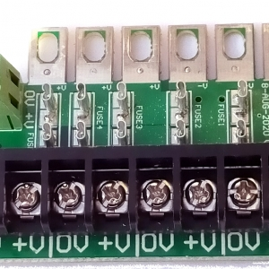 PSDIST1 enclosed power supply fuse distro