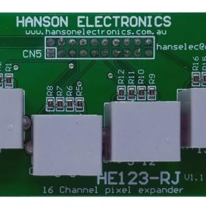 HE123-RJ 16 channel RJ45 breakout