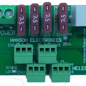 HE123-RX2 4 channel differential receiver