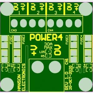 Power4-power distribution