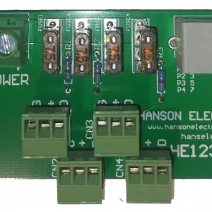 HE123-EX2 4 channel RJ45 breakout